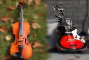 432 Hz Music Violin-vs-guitar